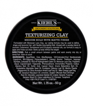 Kiehl's Grooming Solutions Texturizing Clay Pomade 50g