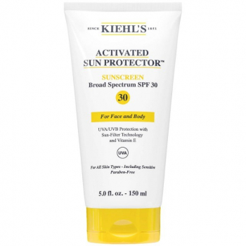 Kiehl's Activated Sun Protector Sunscreen For Face and Body SPF 50 150ml