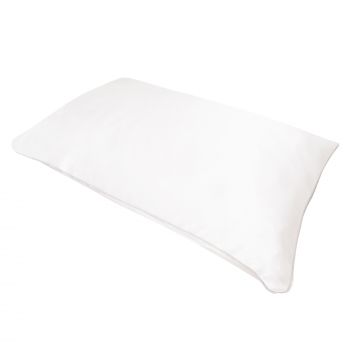 Holistic Silk Silkeputetrekk White