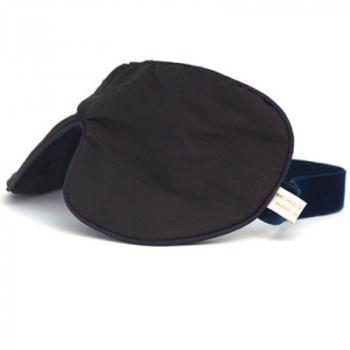Holistic Silk sovemaske Onestrap - black unscented
