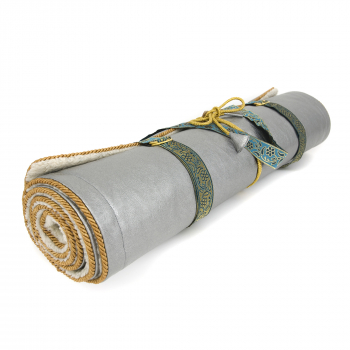 Holistic Silk Yogamatte Silver