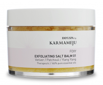 Karmameju Foxy Exfoliating Salt Scrub 350ml