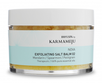 Karmameju Nova Exfoliating salt balm 350ml