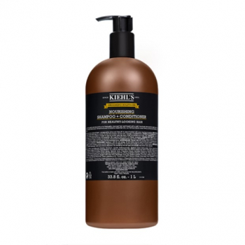 Kiehl's Grooming Solutions Nourishing Shampoo + Conditioner 1 L