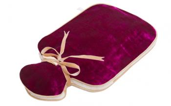 Holistic silk - Hot Water Bottle Pink