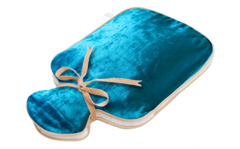 Holistic silk - Hot water Bottle Turquoise