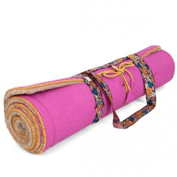 Holistic Silk Yogamatte Pink