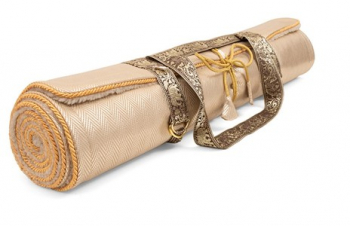 Holistic Silk Yogamatte Rose Gold